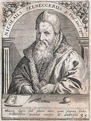 O heilges Geist- und Wasserbad, BWV 165 - Nikolaus Selnecker, who wrote the hymn tune