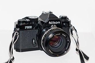Nikon FM2 - A Nikon FM2 in black finish