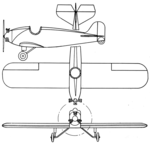 Niles-Williams Gold Tip 3-view Aero Digest April 1928.png