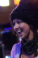 Nina Garenetska (DakhaBrakha) (Haldern Pop 2013) IMGP6648 smial wp.jpg
