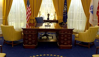 Richard Nixon Presidential Library and Museum - The Nixon Library has a full-scale, exact replica of President Nixon's Oval Office that guests can enter and interact within. It was created as part of a $15 million renovation of the entire facility in 2016.