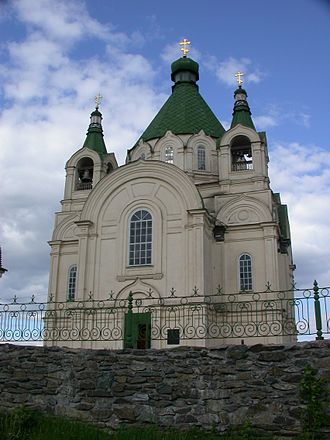 Nizhny Tagil - Alexander Nevsky Cathedral in Nizhny Tagil