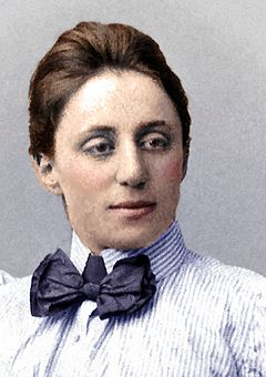 Emmy Noether (* 1882)