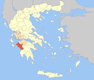Elis (regional unit) - Image: Nomos Ilias