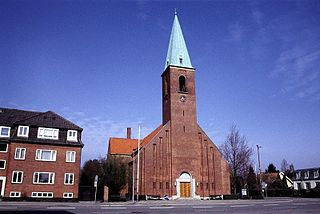 Church in Hellerup, Denmark