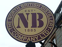 North British Distillery Company Ltd. sign.JPG