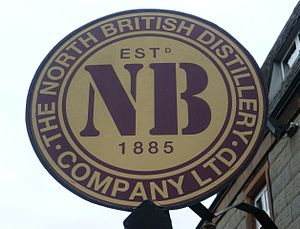 North Britain - North British Distillery Company sign