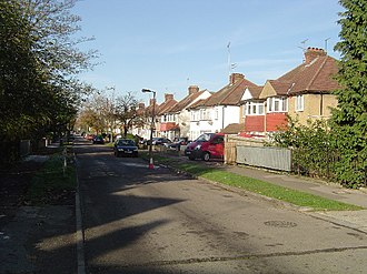 North Harrow - Image: North Harrow, Northumberland Road geograph.org.uk 83947