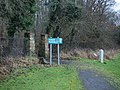 North entrance to Castlemilk Woodlands (geograph 4277750).jpg