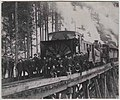 Northern Pacific Railroad snow removal gang and engine, 1886 (MOHAI 7273).jpg