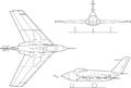 Northrop X-4 3-view.png