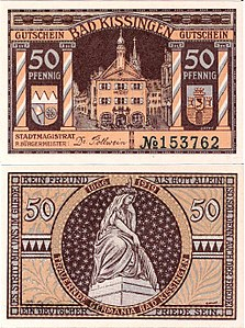 Notgeld Bad Kissingen 50Pf 1919.jpg