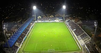 Novi Pazar City Stadium - Image: Novi Pazar City Stadium