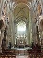 Noyon (60), cathédrale Notre-Dame, nef, vue vers l'est 9.jpg