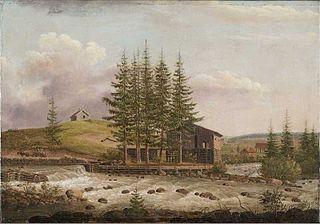 Nydalen Mølle ved Akerselva