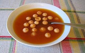 Rose hip soup - Image: Nyponsoppa