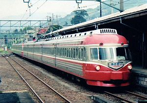 Asagiri (train) - Image: ODAKYU ROMANCECAR SSE 3000