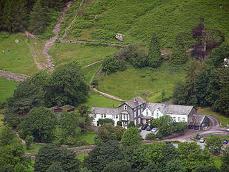 Great Langdale - Old Dungeon Ghyll from Side Pike
