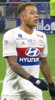Memphis Depay Dutch association football player