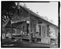 Oakland Plantation, Plantation Store and Post Office, Route 494, Bermuda, Natchitoches Parish, LA HABS LA,35-BERM,2-O-8.tif