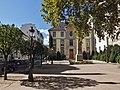 Obélisque et lycée Vaugelas, Chambéry.JPG