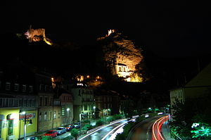 Idar-Oberstein - Idar-Oberstein at night