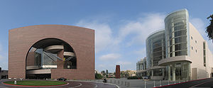 The Segerstrom Concert Hall, right, and Segers...