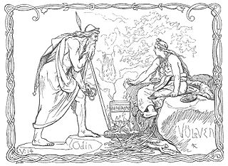 Norse mythology body of mythology of the North Germanic people stemming from Norse paganism and continuing after the Christianization of Scandinavia and into the Scandinavian folklore of the modern period