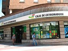 Oficina de la entidad en la ciudad de c ceres for Oficinas caja extremadura