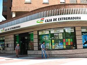 Caja de extremadura g iquipeya for Oficinas caja extremadura