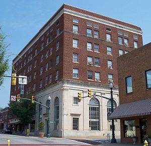 Concord, North Carolina - Old Downtown hotel