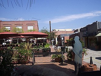 Pasadena, California - One Colorado Market Place, one of the largest development projects in Old Pasadena