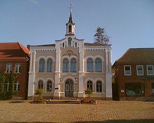 Oldenburg in Holstein - Town hall