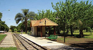 Avellaneda Park Historic Train - Onelli station