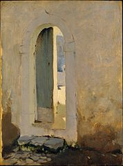 Open Doorway, Morocco