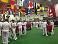 Open house on the hangar deck of the USS Carl Vinson while docked in Singapore - 20141002-01.jpg