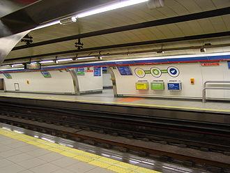 Ópera (Madrid Metro) - Line 2 platforms, Ópera