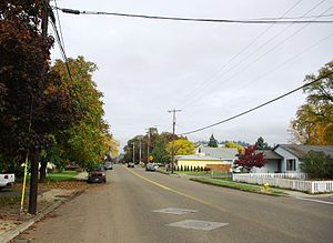 Oregon Route 47 - 47 in Banks