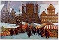 Oskar Popp - Weihnachtsmarkt in Hildesheim, 1928.jpg