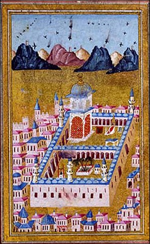Battle of Medina (1812) - Medina under Ottoman Rule , Medina Mosque
