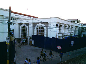 Mapúa University - Image: Outside MIT Campus