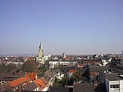 Central Paderborn and Cathedral