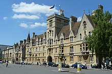 Tudor style of Balliol College Oxford