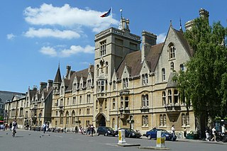 Balliol College, Oxford constituent college of the University of Oxford