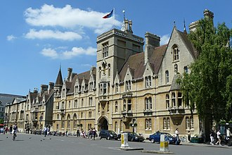 Balliol College, Oxford - Image: Oxford Balliol College geograph.org.uk 1329613