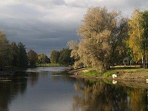 Põltsamaa - Image: Põltsamaa Jõgi