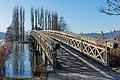 Pörtschach Promenadenbad Brücke zur Blumeninsel 28012016 0424.jpg