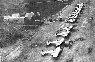 Eleventh Air Force - 18th Pursuit Squadron P-36 Hawks, Elmendorf, August 1941