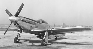 521st Air Defense Group - F-51D as flown by the 87th FIS until 1953