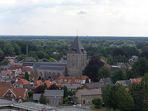 Delden - View from the water tower.